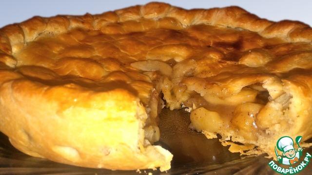 Рецепт Американский пирог с яблоками