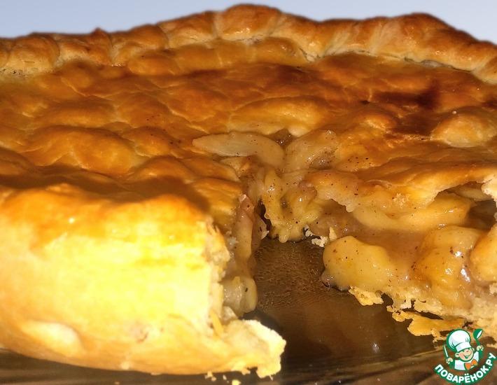 Рецепт: Американский пирог с яблоками