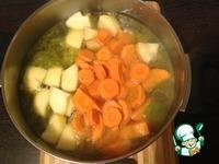 Морковный суп-пюре с яблоками ингредиенты