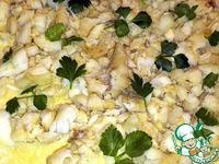 Кулебяка с треской и рисом ингредиенты