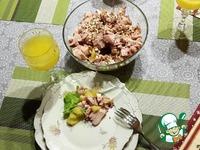 Рецепт Салат с курицей и апельсинами