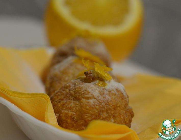 Рецепт: Хрустящие рисовые шарики с хурмой