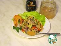 Рецепт Салат с креветками