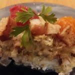 Сырно-овощной омлет