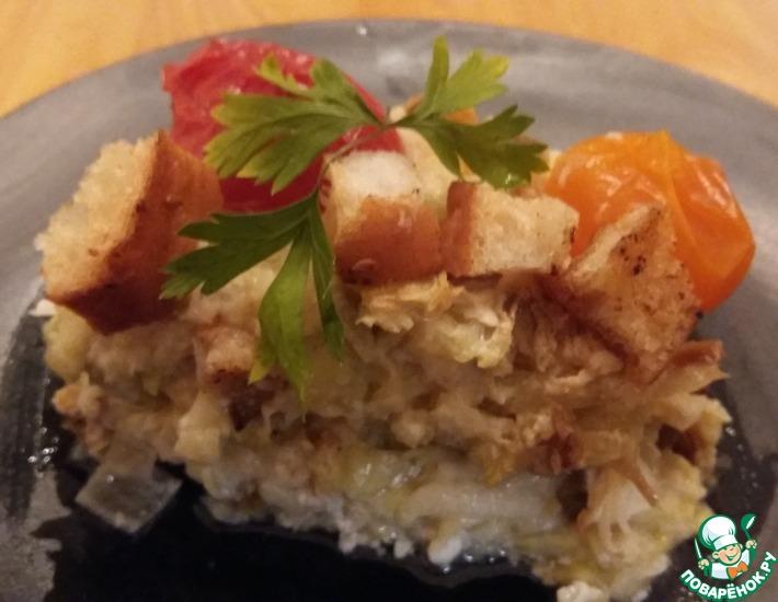 Рецепт: Сырно-овощной омлет