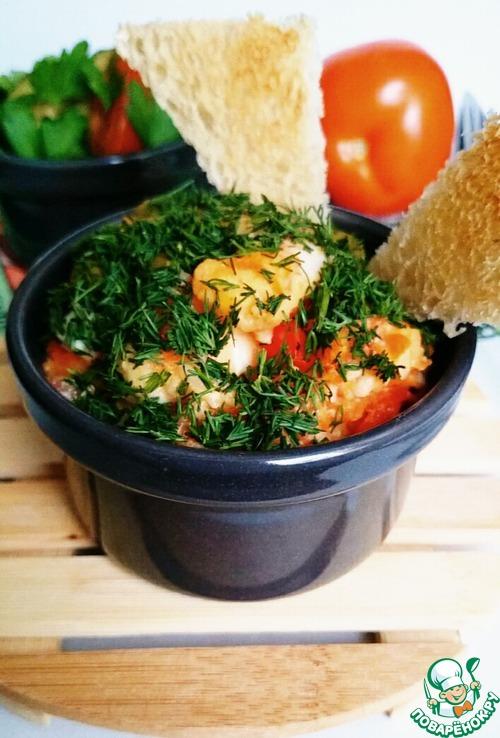 Рецепт Рис с креветками и оливками