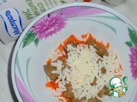 Печеночно-рисовый паштет ингредиенты