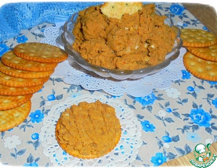 Рецепт: Печеночно-рисовый паштет