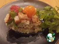 Сырно-овощной омлет ингредиенты