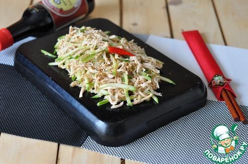 "Рецепт Китайская битая курица ""Бань-Бань"""