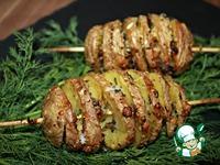 """Картофель """"Пружинка"""" с пармезаном и прованскими травами ингредиенты"""