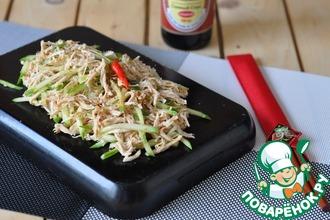 Рецепт: Китайская битая курица Бань-Бань