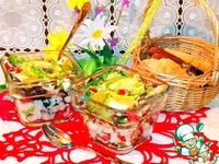 Рисовый салат с треской ингредиенты