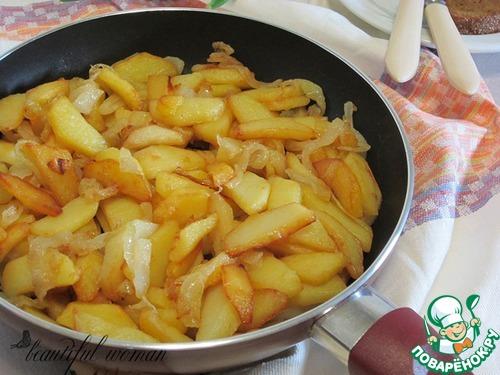 Рецепт Жареный картофель по-одесски