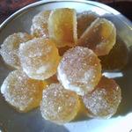 Литые конфеты на желатине