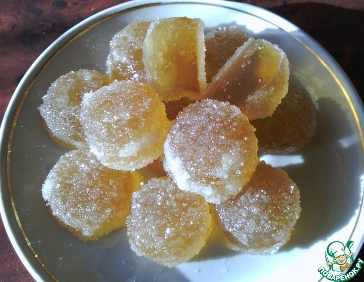 Рецепт: Литые конфеты на желатине