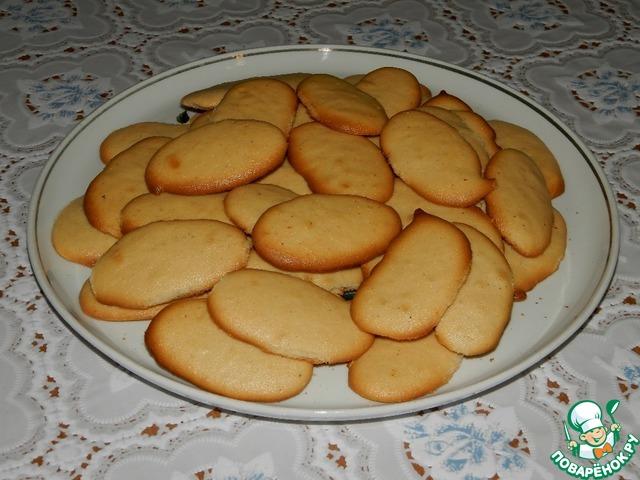 тонкое печенье рецепт