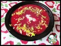 Борщ-крем с яблоками ингредиенты