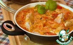 Рецепт: Кролик в томатном соусе от Помидорки
