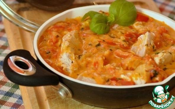 Рецепт Кролик в томатном соусе от Помидорки