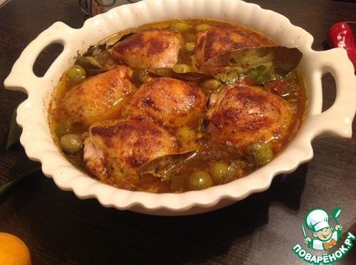 Рецепт Курица в пикантном маринаде