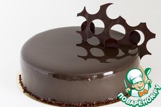 Рецепт: Суперблестящая зеркальная глазурь из какао