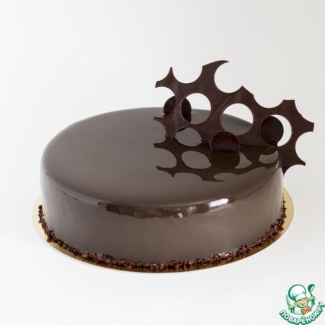 Рецепт Суперблестящая зеркальная глазурь из какао