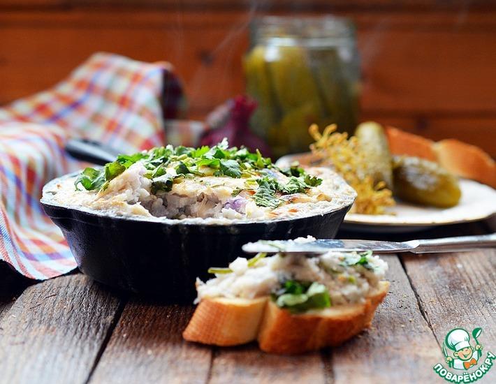 Рецепт: Запеканка-паштет из рыбы Брандада