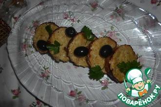 Рецепт: Горячее Рыбные кексы