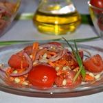 Салат из помидоров Привет из лета
