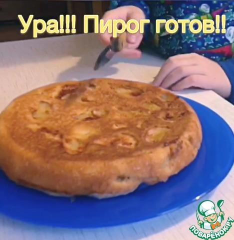 Рецепт Шарлотка с яблочками