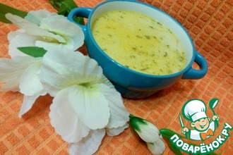 Рецепт: Суп с куриными желудками и овсянкой