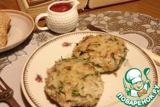 Рецепт: Рисовые биточки с тунцом