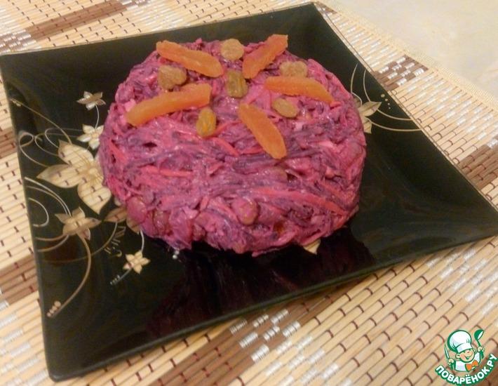 Рецепт: Витаминный салат Зимний