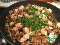 """Курица с грибами и чесноком """"Ничего лишнего"""" ингредиенты"""