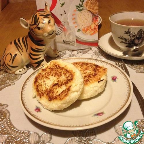 Рецепт Яблочно-рисовые творожники на рикотте