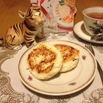 Яблочно-рисовые творожники на рикотте