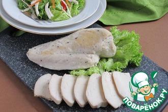Рецепт: Куриное мясо для салатов