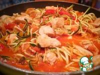 "Цуккини ""Зудлз"" с курицей и томатами ингредиенты"