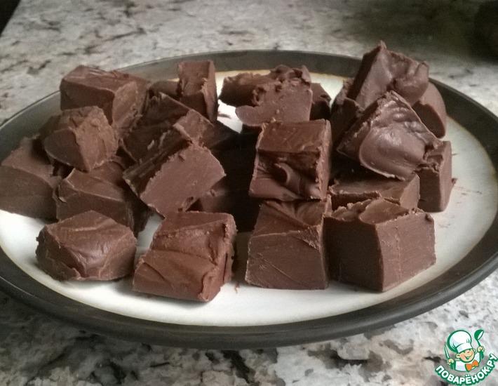 Рецепт: Шоколадные конфеты-помадки