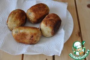 Картофельные зразы по-японски Сухари панировочные