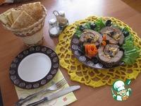 Рулет печеночный с гречкой и черносливом ингредиенты