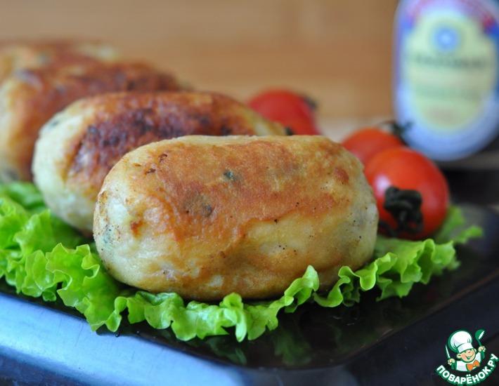 Рецепт: Картофельные зразы по-японски