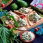 Паштет-салат из авокадо и риса