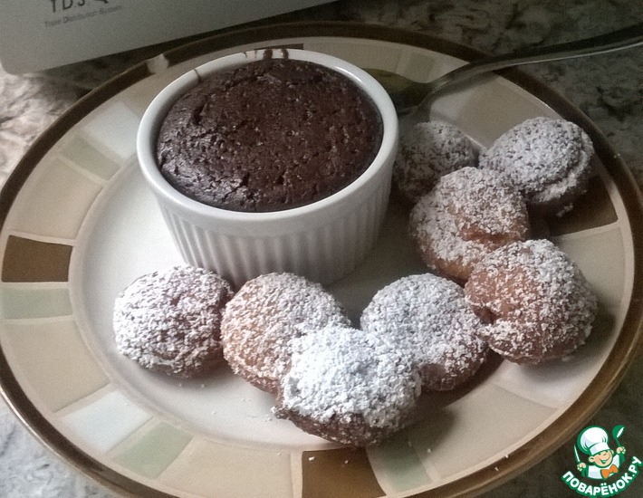 Рецепт: Легкое шоколадное суфле