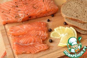 Рецепт: Малосольная рыба почти по-шведски