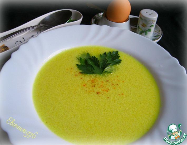 Рецепт: Жёлтый суп от В. Похлёбкина
