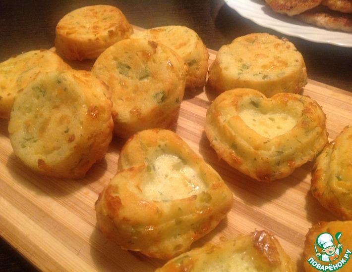 Рецепт: Сырные булочки
