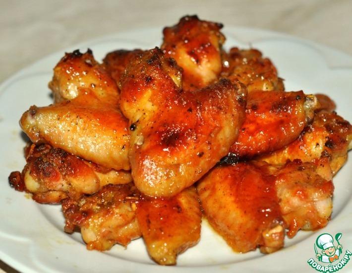 Рецепт: Крылышки Баффоло