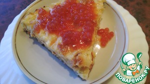 Желированный соус из квашеных помидоров